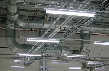 Illuminazione magazzini e reparti di produzione